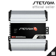 Stetsom EX 3000 EQ 1 Ohm Amplifier 3K HD Bass + Voice Car Amp - Ships From USA