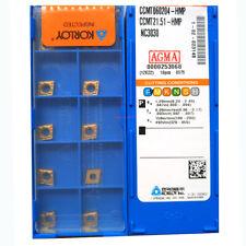 H●KORLOY CCMT060204-HMP NC3030 Carbide Inserts CNC TOOL.