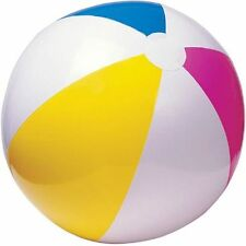 """* New * Beachball Pool Party 24"""" Multi color Inflatable Beach Ball"""
