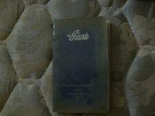 1940 NEW YORK GIANTS MEDIA GUIDE Press Book MEL OTT Baseball Program Yearbook AD