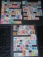 Brazil 1960-67 collection 129 diff used stamps