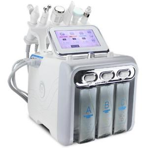 6in1 Hydro water Dermabrasion RF Bio-lifting Hydra Spa Facial Machine