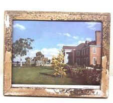 Vintage EMBASSY OF THE UNITED STATES OF AMERICA Litho Print with Old Frame