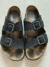 Men's Black Birkenstocks Size 10 Leather