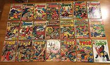 AVENGERS 21 BK LOT#136,140,141,147+Captain America#172+Iron Man#49+THOR#179,212+