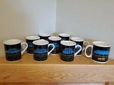 "Lot of 9; The complete ""Star Trek Mug Collection"" plus the ""Starship Enterprise"""