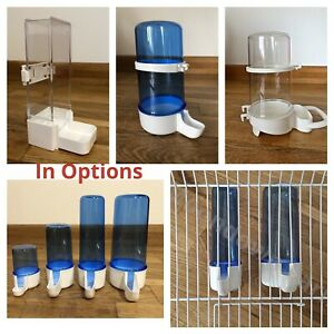 Bird Cage Water Drinker & Feeder Bottles Anti Algae For Finches Canary Budgie