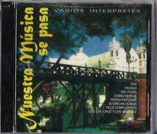 Nuestra Musica Se Pasa  Latin Music CD New