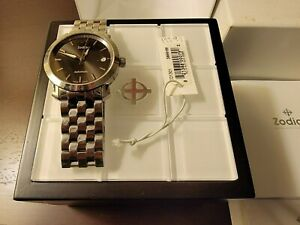 Zodiac ZO1301 Vintage Automatic Swiss-Made Watch – Steel Band