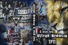 COFANETTO 4 DVD ULTRAS BRESCIA 1911  (UBS,BRESA,FDL,BRN,BRESCIANI,INCIDENTI)