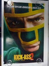Kick-Ass 2 Aaron Taylor-Johnson Original Cartel De Película Una Lámina 69x102cm