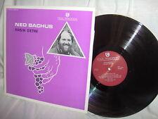 NED BACHUS-RASIN D'ETRE folk rock vinyl LP