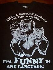 THE HANGOVER 2 MONKEY T-Shirt SMALL NEW