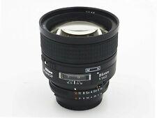 Nikon Nikkor 85mm f/1.4 D AF Prime Lens