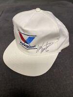 Vintage Nascar Valvoline Racing MARK MARTIN #6 Autographed Snapback Trucker Hat