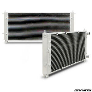 40mm ALUMINIUM RACE SPORT RADIATOR RAD FOR VW TRANSPORTER T4 1.8 2.0 1.9 TDI