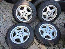 4 Winterräder /Winterreifen Mercedes Benz 195/65 R15 91T Michelin auf Alu C-Kl E