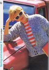 COCONUT CARDIGAN knitting pattern, cardigan - Marshall Cavendish pamphlet SS6
