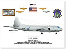 P-3C Orion of the VPU-2 Wizards, US Navy Special Projects Patrol Aircraft print