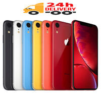 Apple iPhone XR - 64GB 128GB 256GB - Unlocked Smartphone All Colours A, A+ Grade