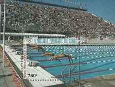 Timbre Sports JO Natation Congo BF41 ** lot 17645