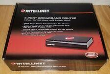 *New* Intellinet 4-Port Broadband Router Model Number 524537