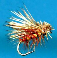 🌟 Tan Elk Hair Caddis Dry Fly Fishing Flies - Select Quantity and Hook Size