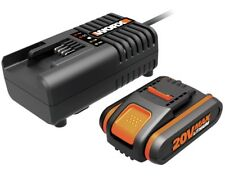 WORX WA3860 20V Lithium Battery Fast Charger & 1x  1.5ah battery wa3550.1