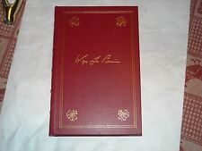 Jefferson and Madison, by Adrienne Koch...Library of American Freedoms leather