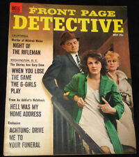 1965 Front Page Detective NIGHT OF THE RIFLEMAN California VG+ COPY