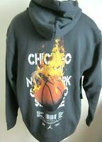 Nike Mens Jordan AJ4 Legacy Pullover Hoodie Sweatshirt Anthracite Grey XXL NWT