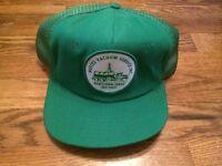 Vintage Nueces Vacuum Service Inc Robstown Texas Trucker Cap Hat Snapback