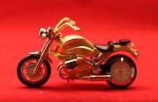 Flair/Motorrad-Uhr/Deko/Gold-Silber/ Geschenk/Funktionsfähig/ Quarz/ OVP