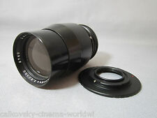 "SUPER-16 ZEISS SPEED 2.8/100MM ""MODIFIED"" C-MOUNT LENS 16MM MOVIE CAMERA BMPCC"