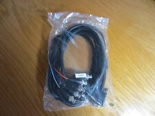 Premium VGA HD 15pin to plug 5 BNC cables 10ft, brand new!!!