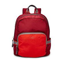 NWT Fossil Abbott Backpack in Eco-Friendly REPREVE® Fibers Wine Multi SHB1462640
