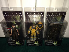 Alien Isolation SEGA NECA 2015 Amanda Ripley Compression Jumpsuit + Xenomorph