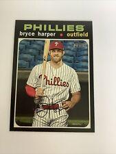 2020 Topps Heritage Bryce Harper SP #447 Phillies
