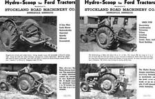 Hydro-Scoop for for Ford Tractors Info Sheet