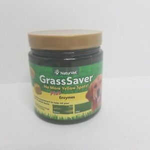 NaturVet Grass Saver Plus Enzymes 120 Soft Chews for dogs New EXP 5/2020