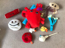 Giant Microbes Cuddly Teaching Science Bundle 7 Items Heart, Sperm, E Coli