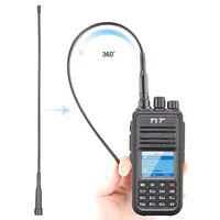 TYT MD380 DMR Digital Walkie Talkie Tytera VHF TDMA Two Way Radio 5W+Cable