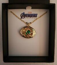 NIB Marvel Comics Avengers Endgame Dr. Strange Eye Of Agamotto Chain & Pendant
