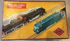 Jouef HO Gauge Sud Express Train Set early 1960s artistic box