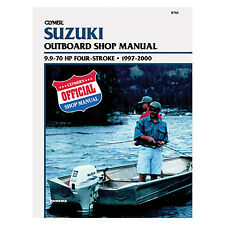 Manual, Service  Suzuki 9-70hp 4str 97-00