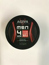 NEW STYLE AGIVA HAIR STYLING WAX EXTRA STRONG 175ML UK
