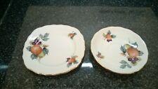 Royal Vale Bone China Side Plate & Saucer Autumn Orchard Fruit Design 8225