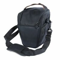 Waterproof Black Triangle Camera Bag Case Backpack for Canon Nikon SLR DSLR