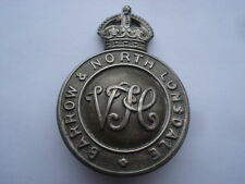 VINTAGE BARROW&NORTH LONSDALE VH CAP BADGE