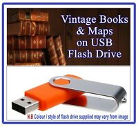 900 WW1 Military Maps & Books on USB World War One Trench Battles Western Front
